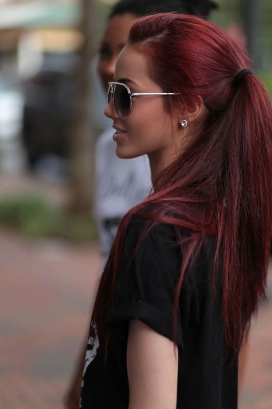 red-hair-7 33 Fabulous Spring & Summer Hair Colors for Women 2018