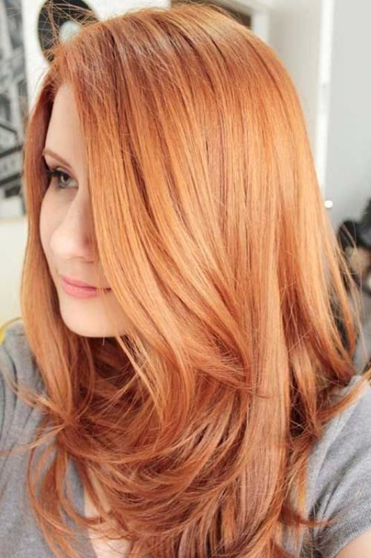 red-strawberry-blonde-hair-4 33 Fabulous Spring & Summer Hair Colors for Women 2020