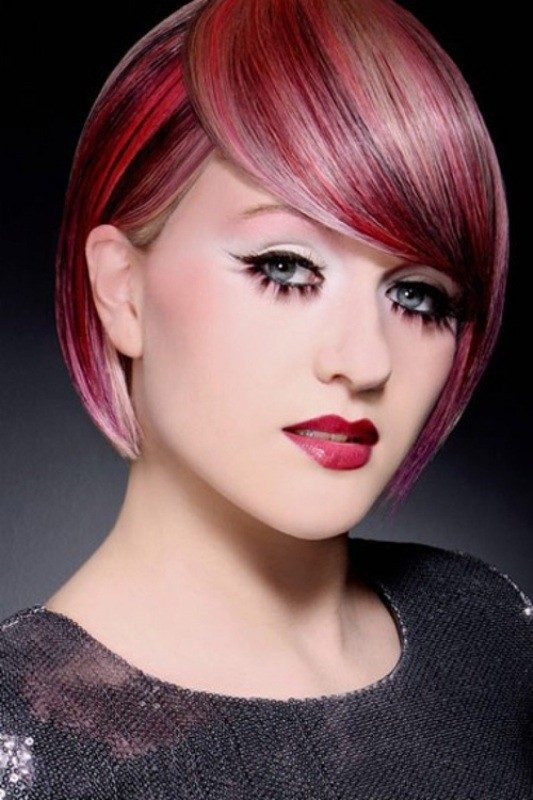 several-colors-1 80+ Marvelous Color Ideas for Women with Short Hair