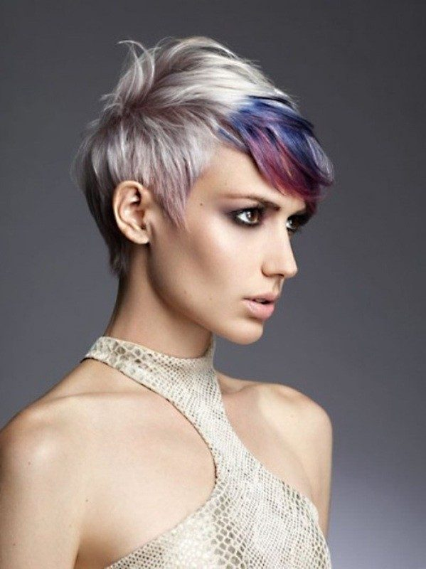 several-colors-11 80+ Marvelous Color Ideas for Women with Short Hair