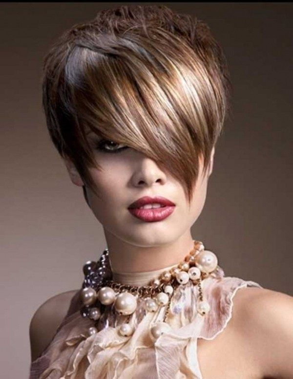 several-colors-14 80+ Marvelous Color Ideas for Women with Short Hair