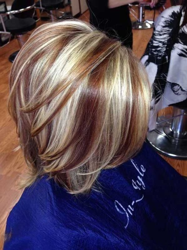 several-colors-18 80+ Marvelous Color Ideas for Women with Short Hair