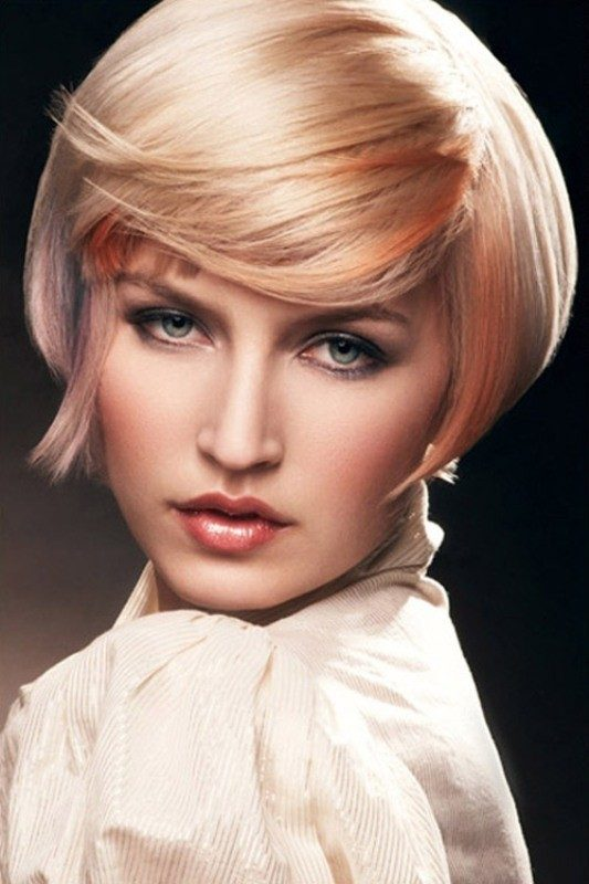 several-colors-2 80+ Marvelous Color Ideas for Women with Short Hair