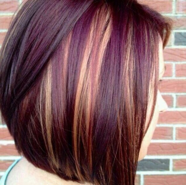 several-colors-20 80+ Marvelous Color Ideas for Women with Short Hair