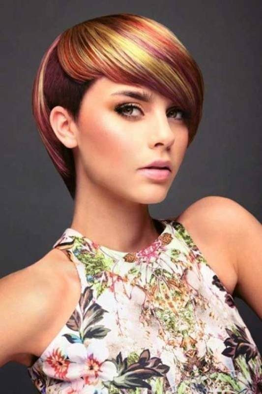 several-colors-3 80+ Marvelous Color Ideas for Women with Short Hair in 2018