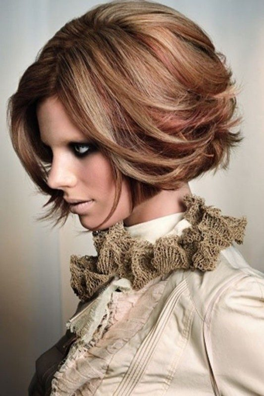 several-colors-5 80+ Marvelous Color Ideas for Women with Short Hair