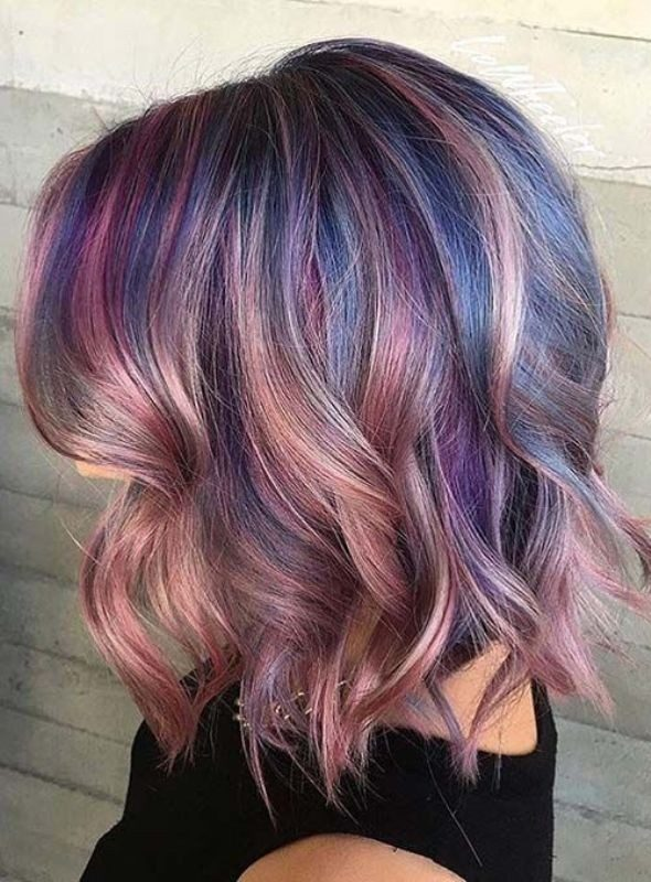 several-colors-9 80+ Marvelous Color Ideas for Women with Short Hair