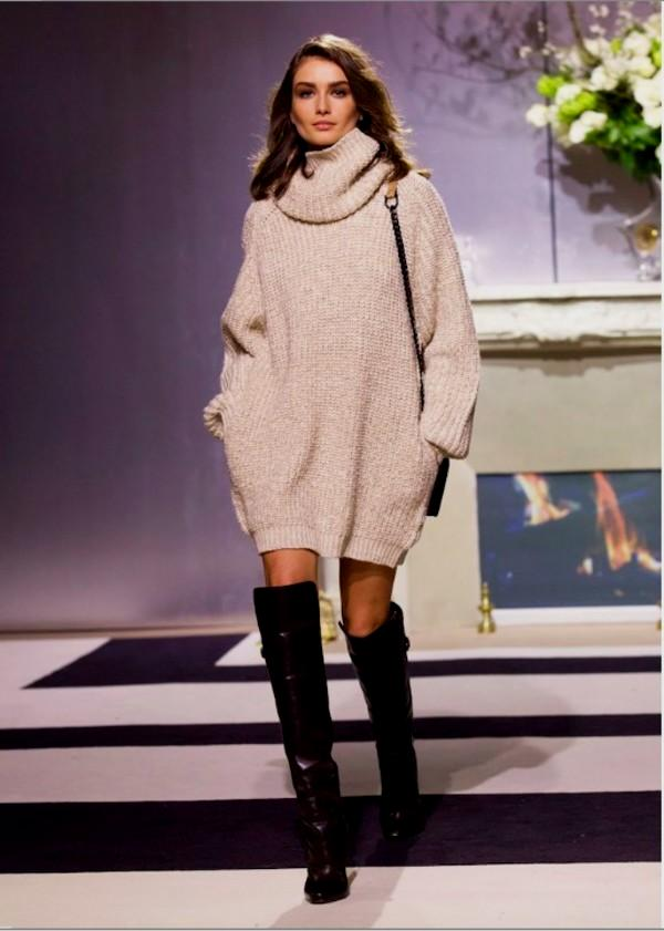 sexy-women-jumper-high-neck-long-sleeve-pullover-tops-knit-sweater 5 Casual Winter Outfits for Elegant Ladies