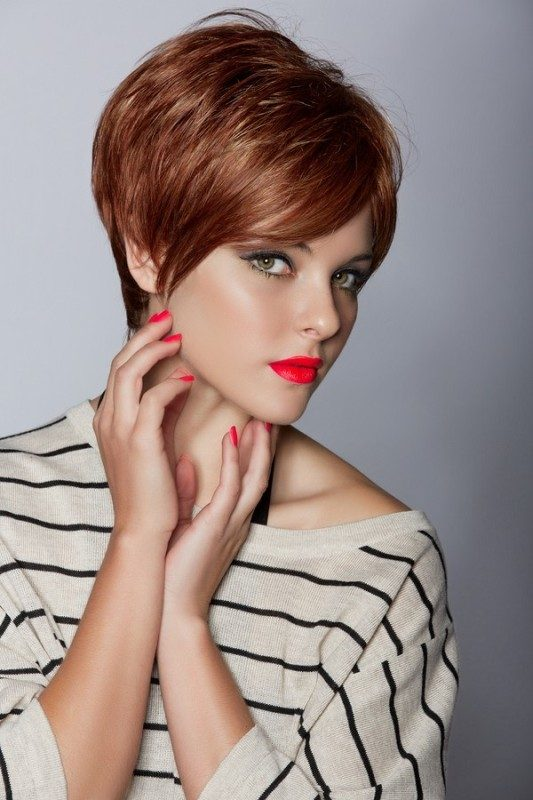 short-hair-colors-2017-6 80+ Marvelous Color Ideas for Women with Short Hair in 2018