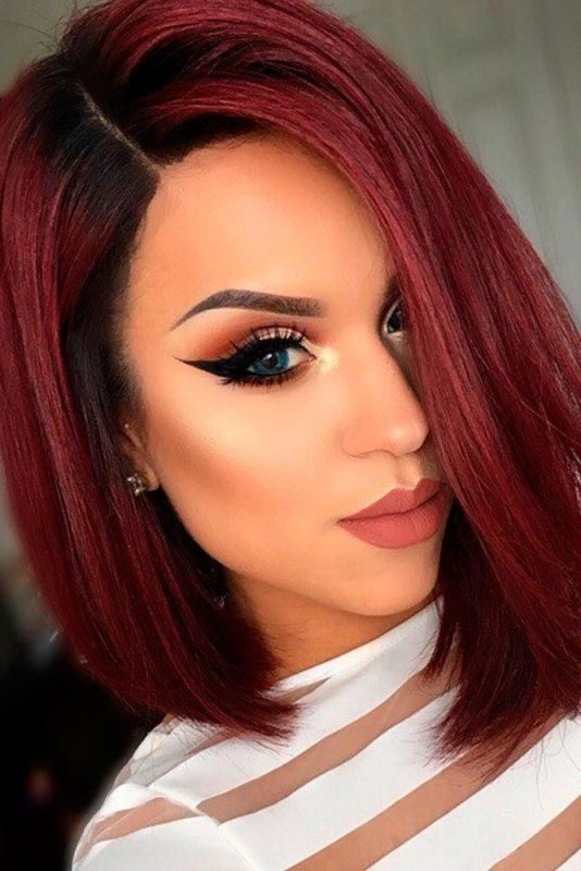 short-hair-colors-2017-7 80+ Marvelous Color Ideas for Women with Short Hair in 2018