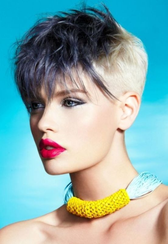 short-hair-colors-2017-8 80+ Marvelous Color Ideas for Women with Short Hair in 2018
