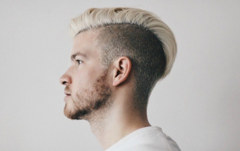undyed-sides-10 50+ Hottest Hair Color Ideas for Men in 2018