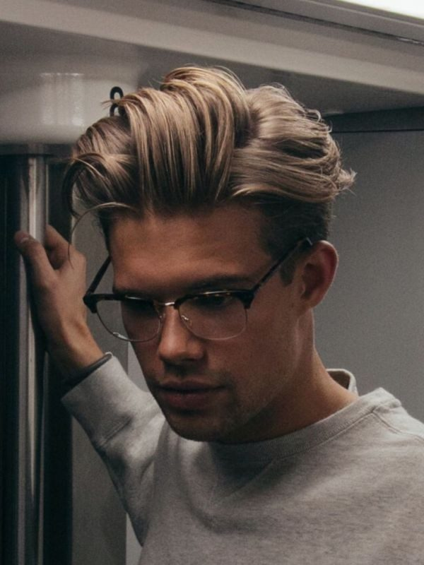 undyed-sides-6 50+ Hottest Hair Color Ideas for Men in 2019
