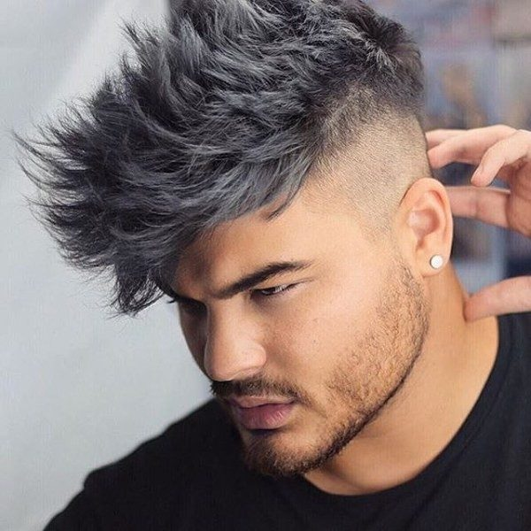 undyed-sides-8 50+ Hottest Hair Color Ideas for Men in 2019
