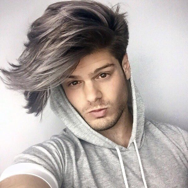 undyed-sides-9 50+ Hottest Hair Color Ideas for Men in 2019