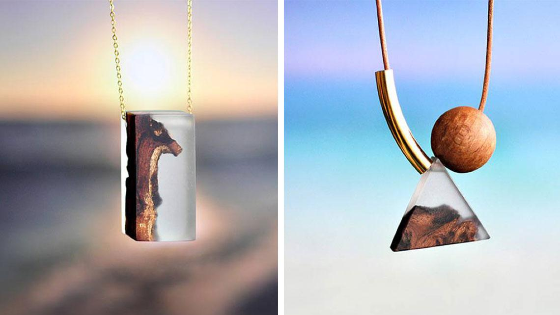 youll-love-these-eco-friendly-driftwood-necklaces Top 10 Unusual Necklace Jewelry Trends in 2017