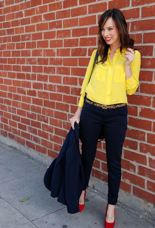 4fa0ca4074e8e9c87ed3f8b05fa59cd9 15+ Elegant Working Ladies Spring Outfit Ideas in 2018