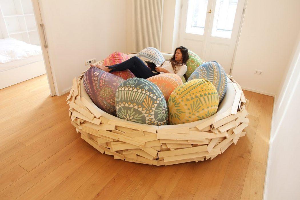 Birdsnest-Easter_01 12 Unusual and Innovative Beds Ever