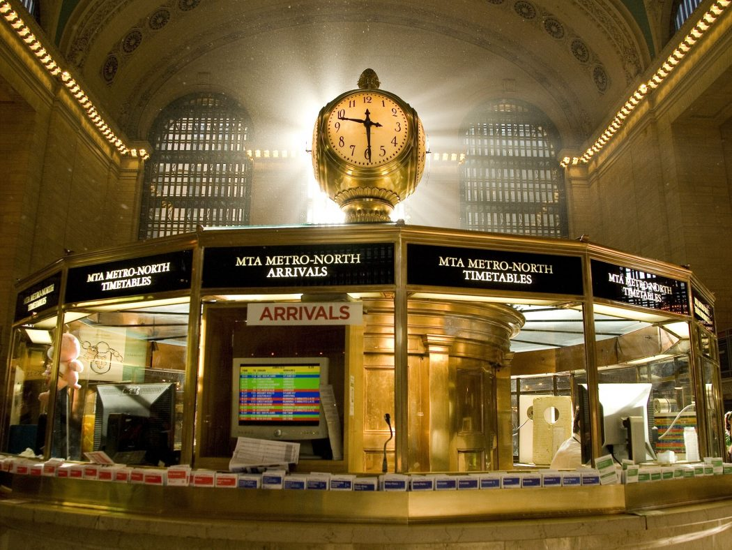 Grand-Central-Terminal-clock 7 Main Facts About New York City You've Never Known