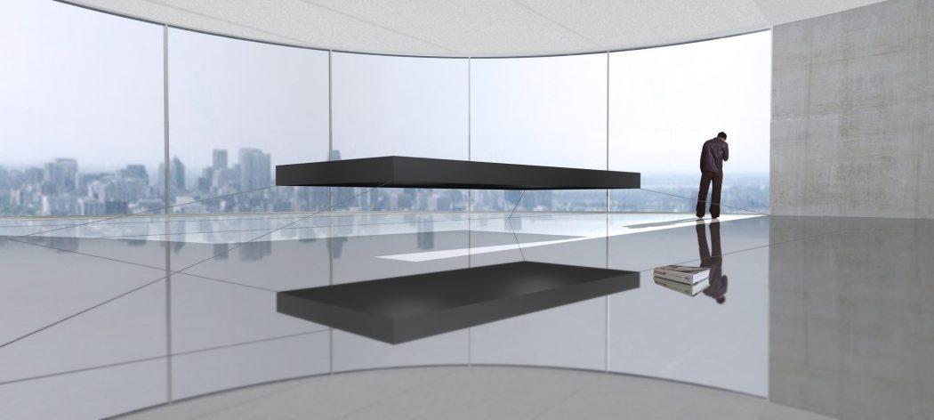 Janjaap-Ruijssenaars-Magic-Moments-in-Floating-Bed-2 12 Unusual Beds That are Innovative