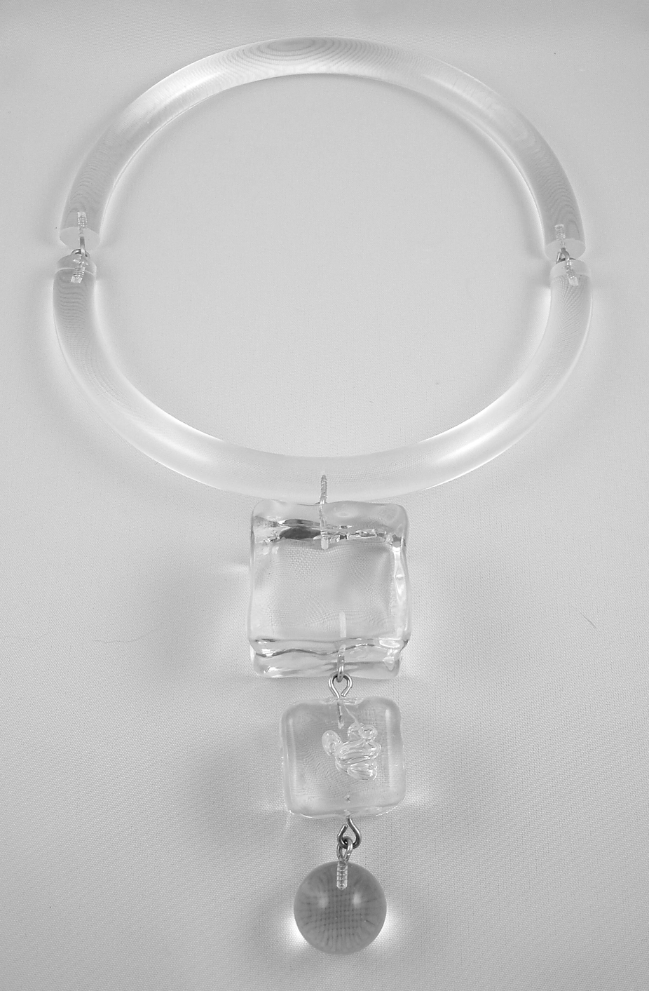 Judith-Hendler-ice-cube-necklace Top 10 Unusual Necklace Jewelry Trends