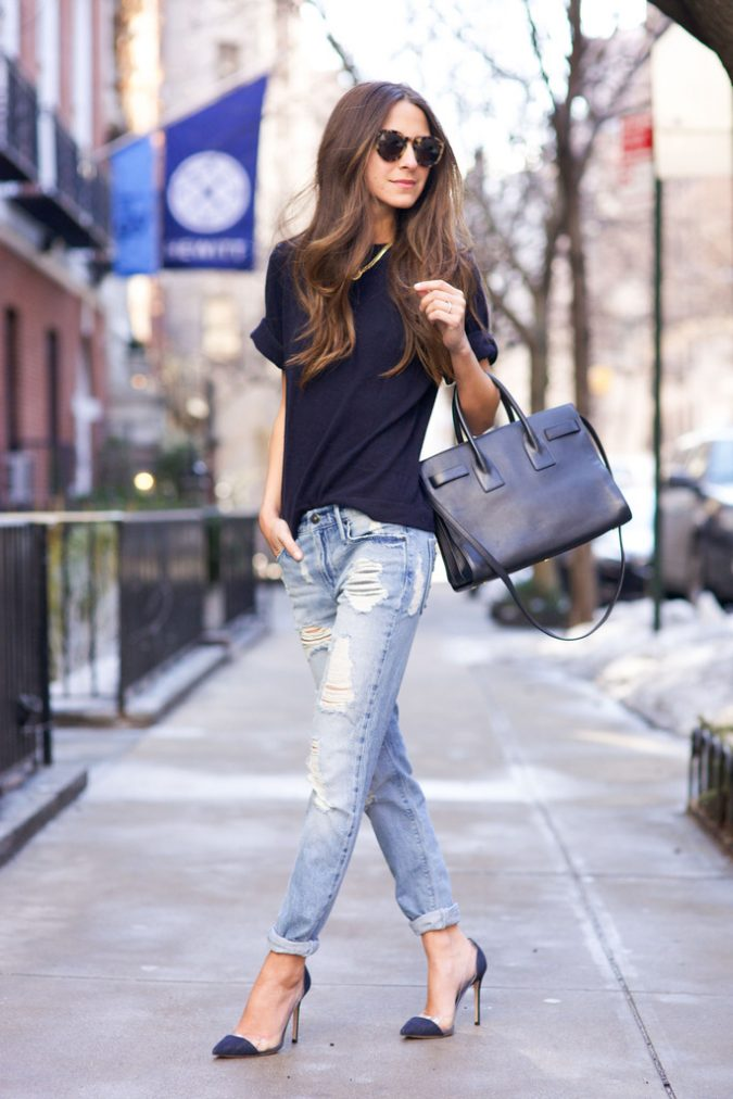 Street-Style-March-2015-87-675x1012 15+ Elegant Working Ladies Spring Outfit Ideas in 2018
