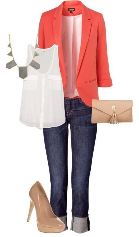 blazer-outfit-ideas-1 88+ Stylish Blazer Outfit Ideas to Copy Now