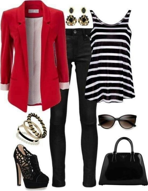 blazer-outfit-ideas-166 88+ Stylish Blazer Outfit Ideas to Copy Now