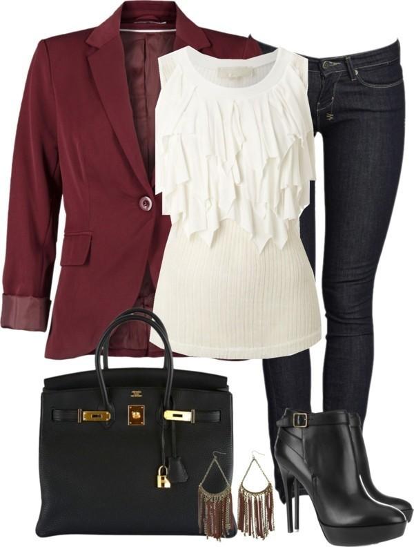 blazer-outfit-ideas-170 88+ Stylish Blazer Outfit Ideas to Copy Now