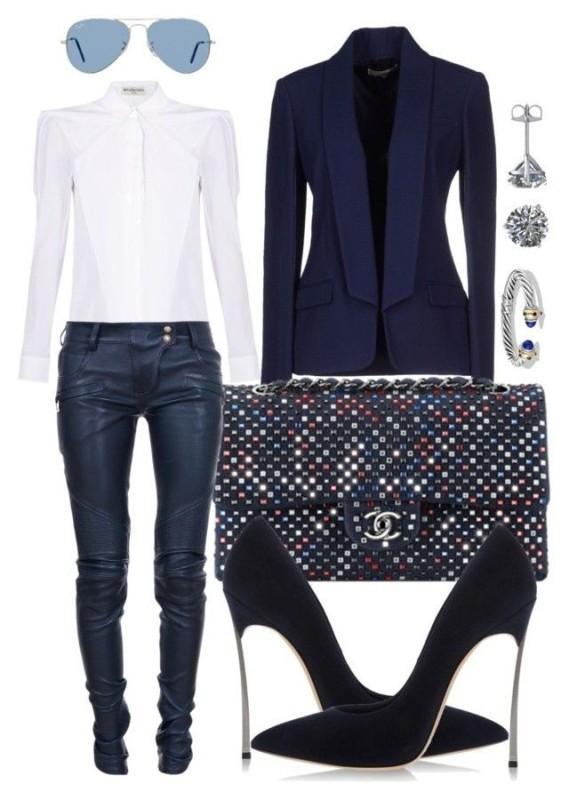 blazer-outfit-ideas-29 88+ Stylish Blazer Outfit Ideas to Copy Now