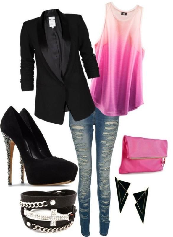 blazer-outfit-ideas-36 88+ Stylish Blazer Outfit Ideas to Copy Now