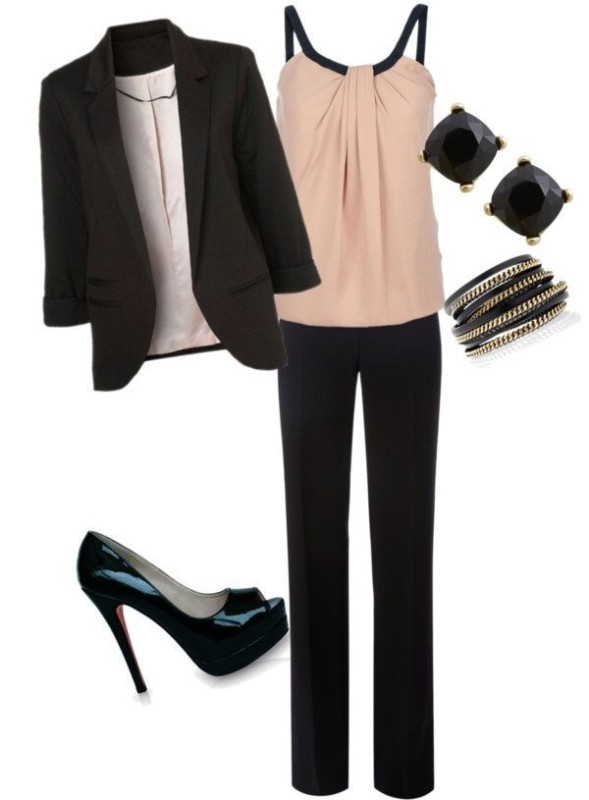 blazer-outfit-ideas-37 88+ Stylish Blazer Outfit Ideas to Copy Now