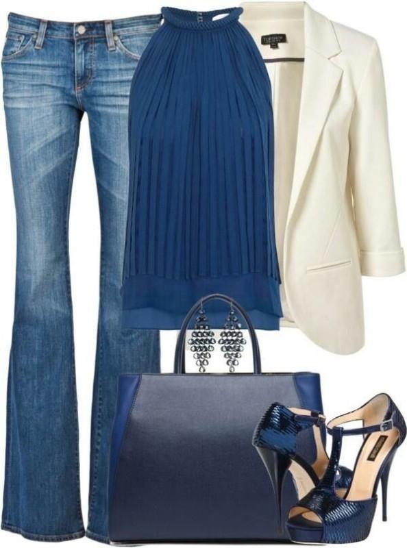 blazer-outfit-ideas-39 88+ Stylish Blazer Outfit Ideas to Copy Now