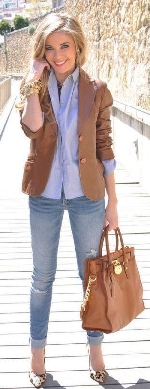 blazer-outfits-10 87+ Fresh Ways to Learn How to Wear a Blazer