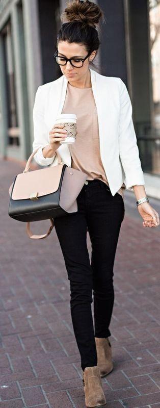 blazer-outfits-11 87+ Fresh Ways to Learn How to Wear a Blazer