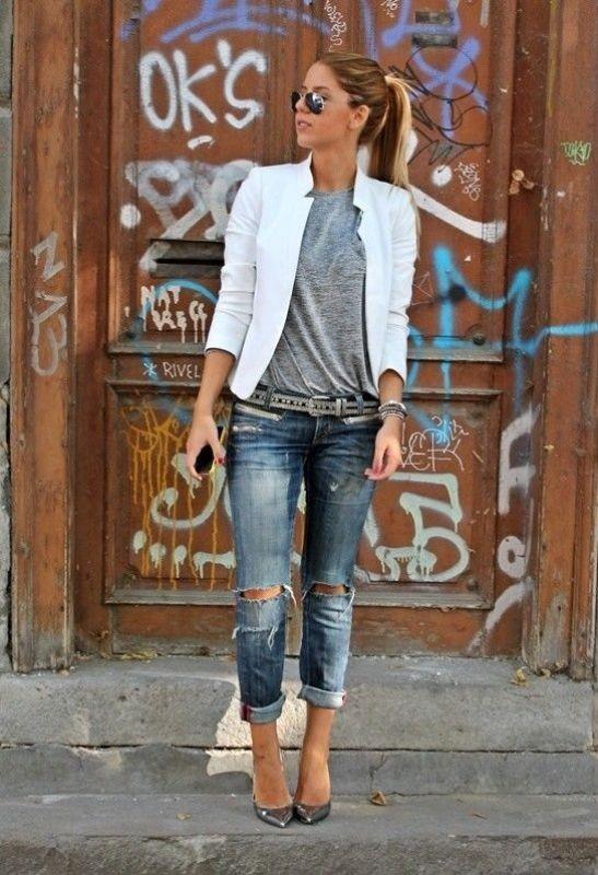 blazer-outfits-114 87+ Fresh Ways to Learn How to Wear a Blazer