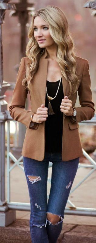 blazer-outfits-12 87+ Fresh Ways to Learn How to Wear a Blazer
