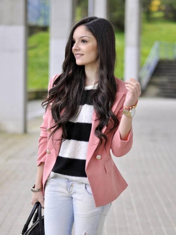 blazer-outfits-124 87+ Fresh Ways to Learn How to Wear a Blazer
