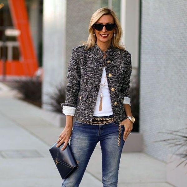 blazer-outfits-128 87+ Fresh Ways to Learn How to Wear a Blazer