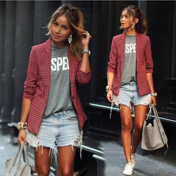 blazer-outfits-129 87+ Fresh Ways to Learn How to Wear a Blazer