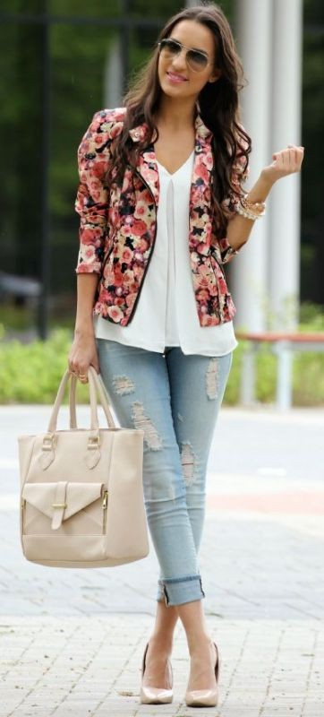 blazer-outfits-20 87+ Fresh Ways to Learn How to Wear a Blazer