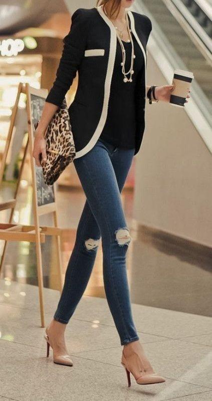 blazer-outfits-24 87+ Fresh Ways to Learn How to Wear a Blazer