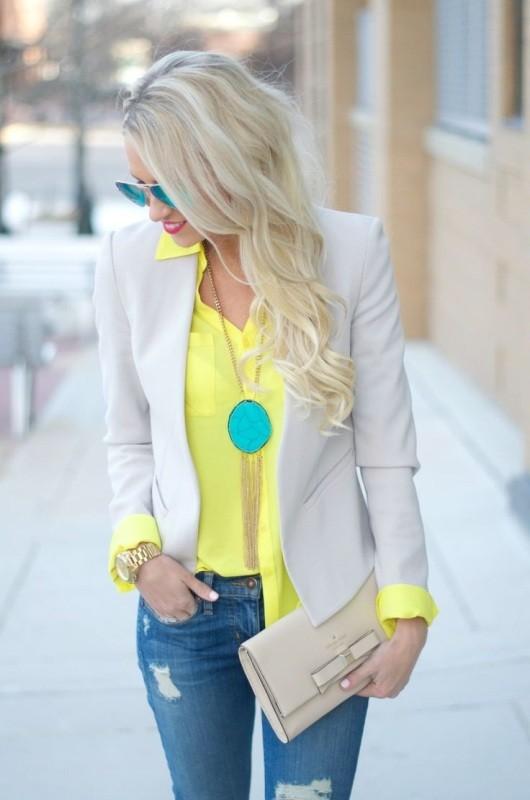 blazer-outfits-43 87+ Fresh Ways to Learn How to Wear a Blazer