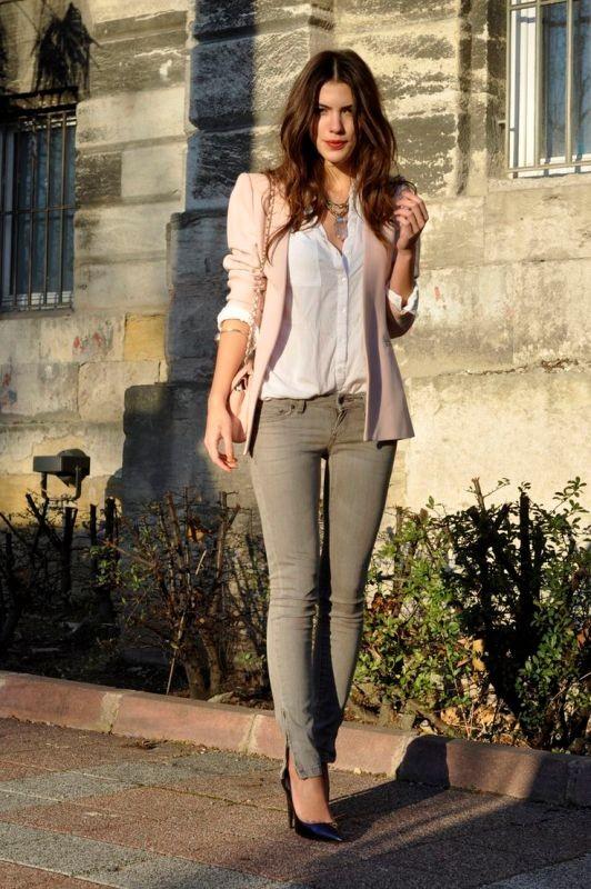 blazer-outfits-46 87+ Fresh Ways to Learn How to Wear a Blazer