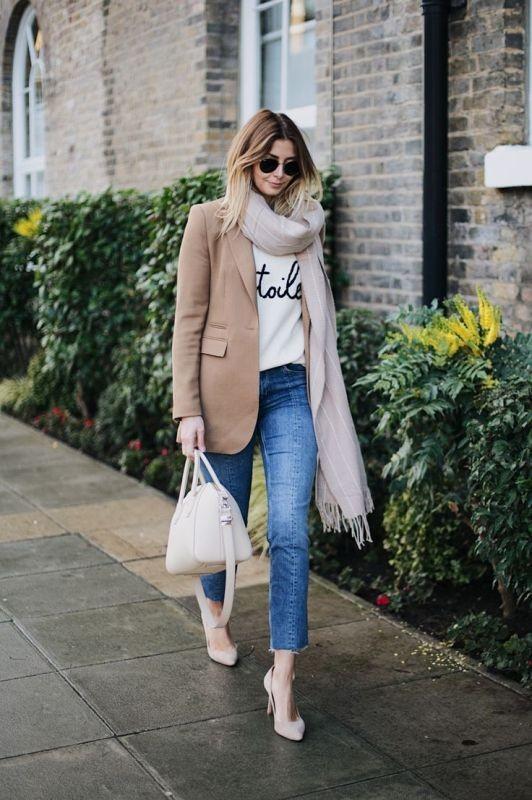 blazer-outfits-47 87+ Fresh Ways to Learn How to Wear a Blazer