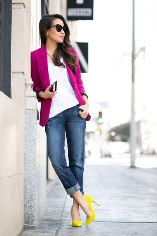 blazer-outfits-53 87+ Fresh Ways to Learn How to Wear a Blazer