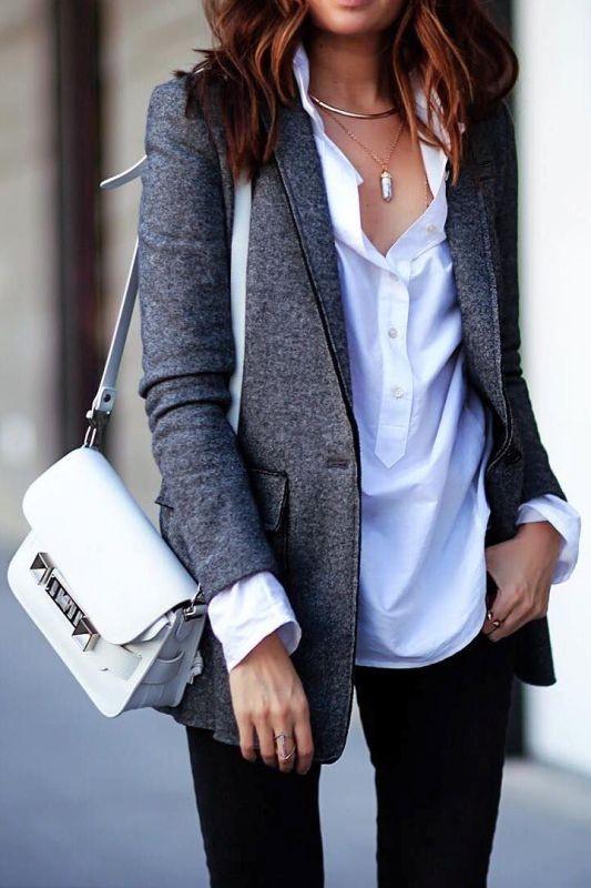 blazer-outfits-56 87+ Fresh Ways to Learn How to Wear a Blazer