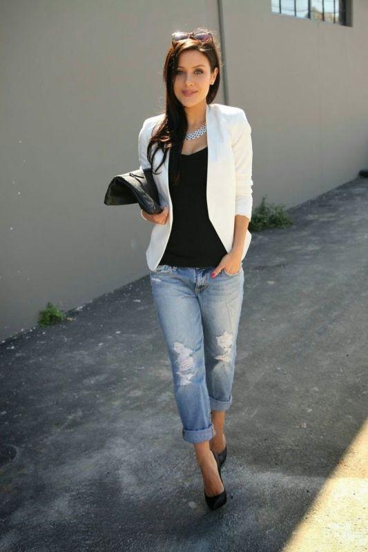 blazer-outfits-69 87+ Fresh Ways to Learn How to Wear a Blazer