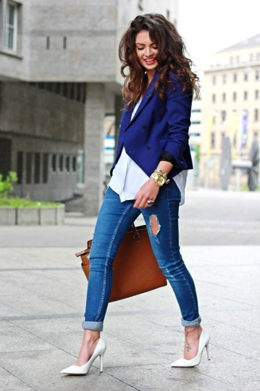 blazer-outfits-70 87+ Fresh Ways to Learn How to Wear a Blazer
