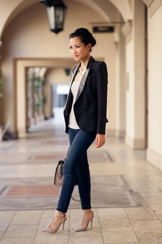 blazer-outfits-72 87+ Fresh Ways to Learn How to Wear a Blazer